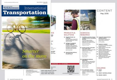 Smarter on the move : International Transportation : english_1-2016