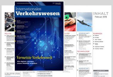 Internationales Verkehrswesen Ausgabe 1 | 2016