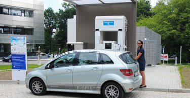 H2-Tankstelle des ZSW Ulm