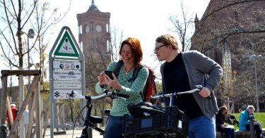 STREETLIFE-App im Einsatz in Berlin