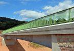 Feuerverzinkte Stahlverbundbrücke