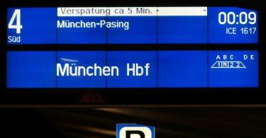 Abfahrtszeiten für die Deutsche Bahn in Echtzeit verfügbar