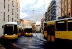 Tram in Berlin.