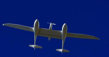 Emissionsfreies Passagierflugzeug HY4 mit Brennstoffzellen-System.