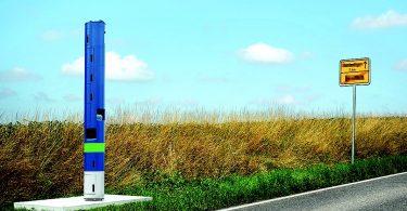 Maut-Kontrollsäule für Bundesstraßen