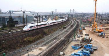 Ausbau der Schienenwege