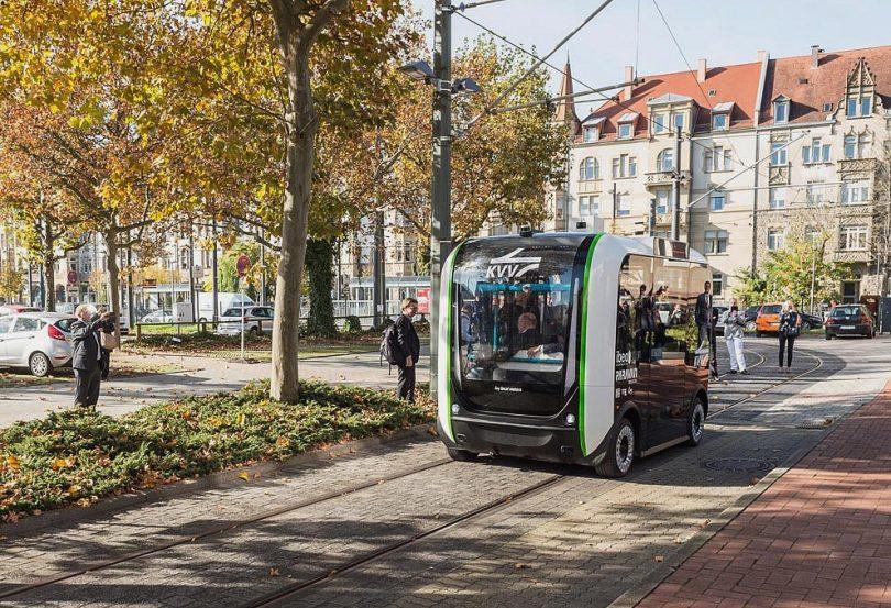 Mobilitätskonzepte - Start für das Testfeld Autonomes Fahren