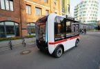 Autonom fahrender Bus der DB