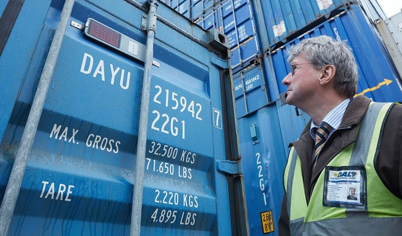 Container-Tracking aus der Cloud