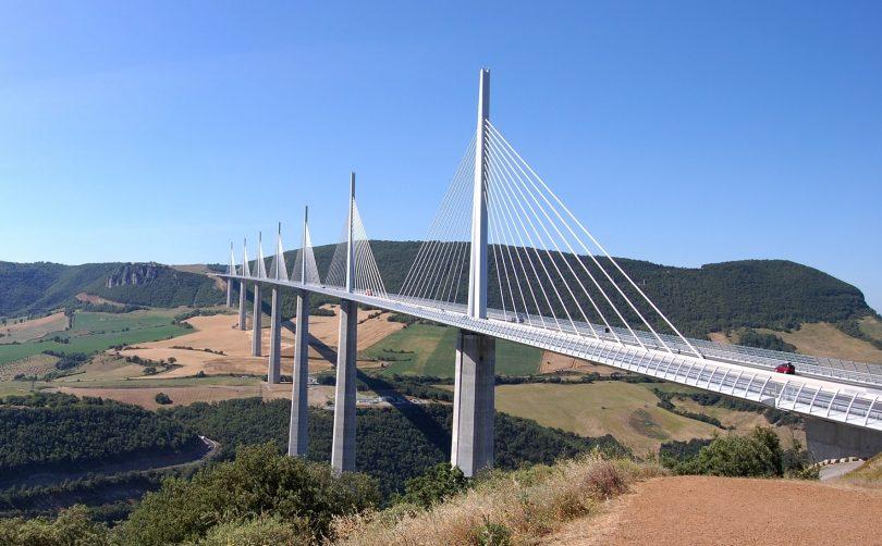 Infrastruktur Brücke Viaduc de Millau