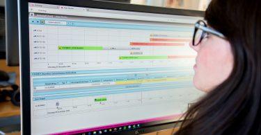Dispo-Monitor der Transdata Speditionssoftware Komalog