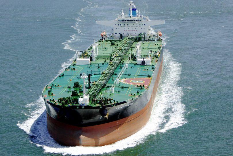 Öltanker auf See