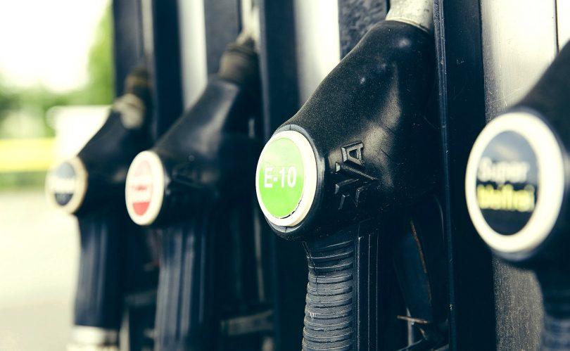 Kraftstoff Zapfstelle