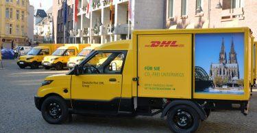 Null-Emissionen-Logistik