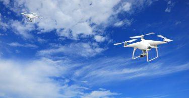 Drohnen im Flug