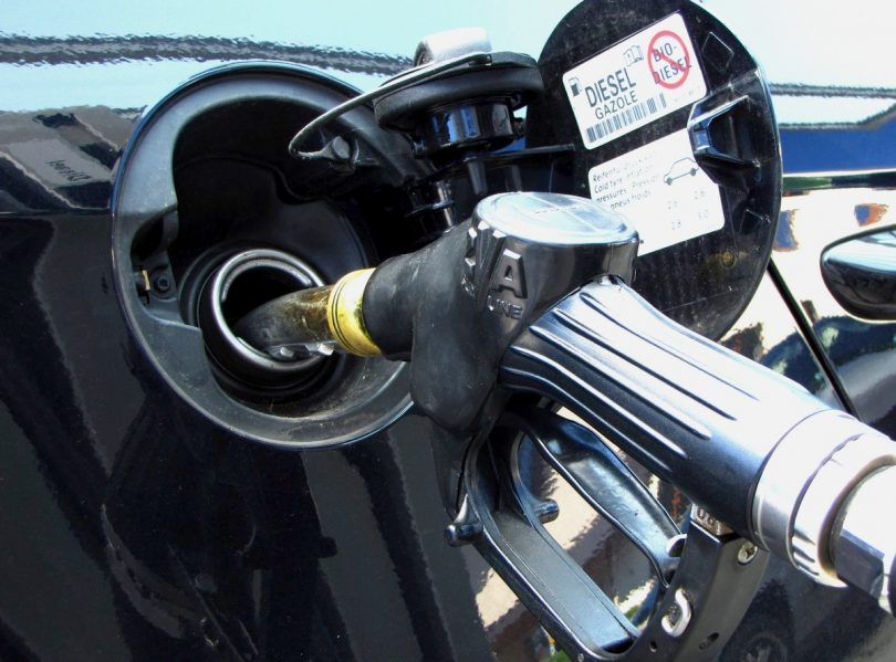Diesel und Emissionen