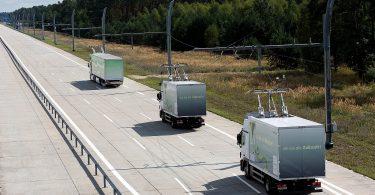 Oberleitungs-LKW-Verkehr Siemens