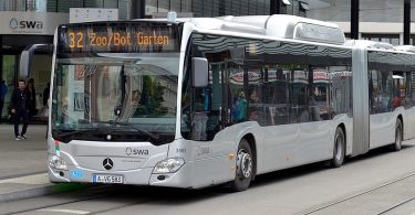 Biomethan-Bus Augsburg