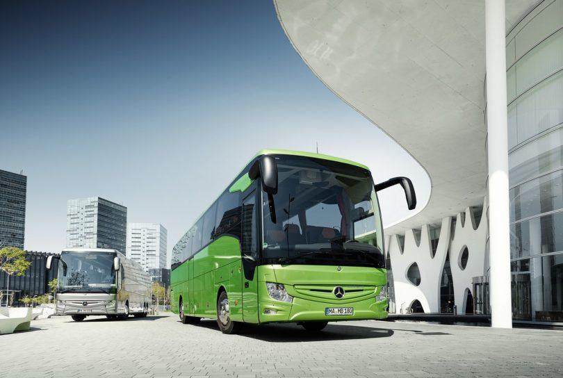 Mercdedes-Benz Tourismo mit Notbremsassistent