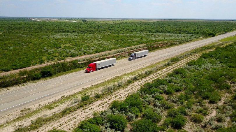 Platooning auf öffentlichen Highways
