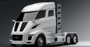 Brennstoffzellen-LKW Bosch und Nikola Motors