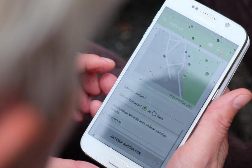 smarter Bevölkerungsschutz-App