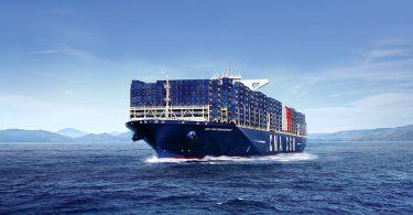 Flüssigerdgas-Containerschiff CMA CGM BOUGAINVILLE