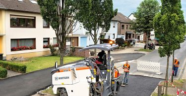 Nachhaltiger Straßenbau