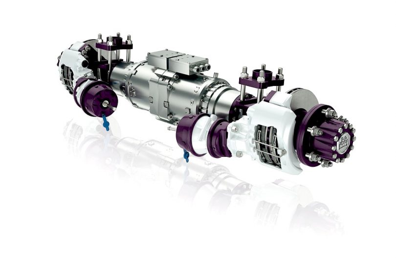 BPW : E-Antrieb für schwere Transporter