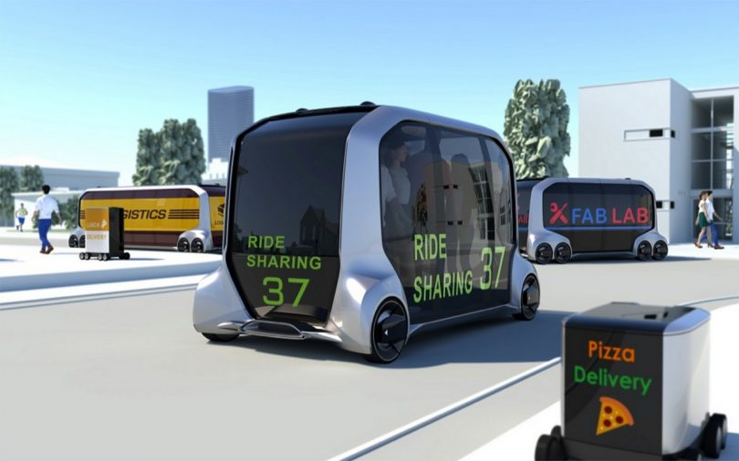 Flexibles Konzeptfahrzeug e-Palette
