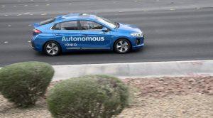 Autonome Fahrzeuge Hyundai (CES 2018)