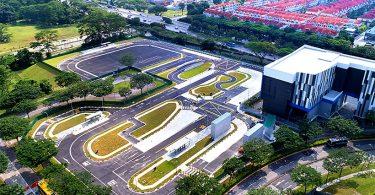 Testzentrum für autonome Fahrzeuge in Singapur