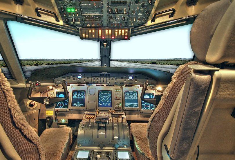 Cockpit ohne Piloten