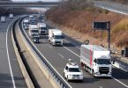 Daimler Trucks testet Platooning-Technologie in Japan