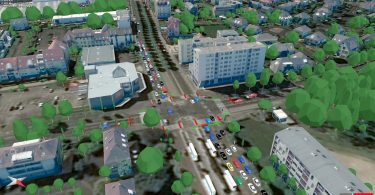 PTV-Simulation Strassburg