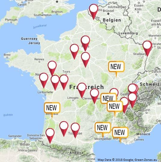 Umweltzone Leipzig Karte.Drohen Diesel Fahrverbotszonen Jetzt In Ganz Frankreich
