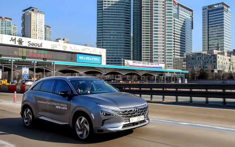 Hyundai Nexo Brennstoffzellenfahrzeug
