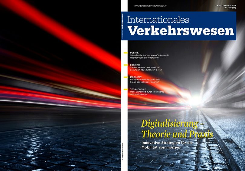 Internationales Verkehrswesen Ausgabe 1 | 2018