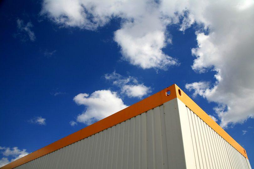 Güterumschlag Container