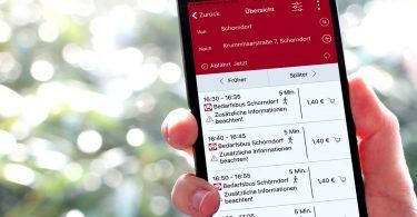 App zum Reallabor Schorndorf