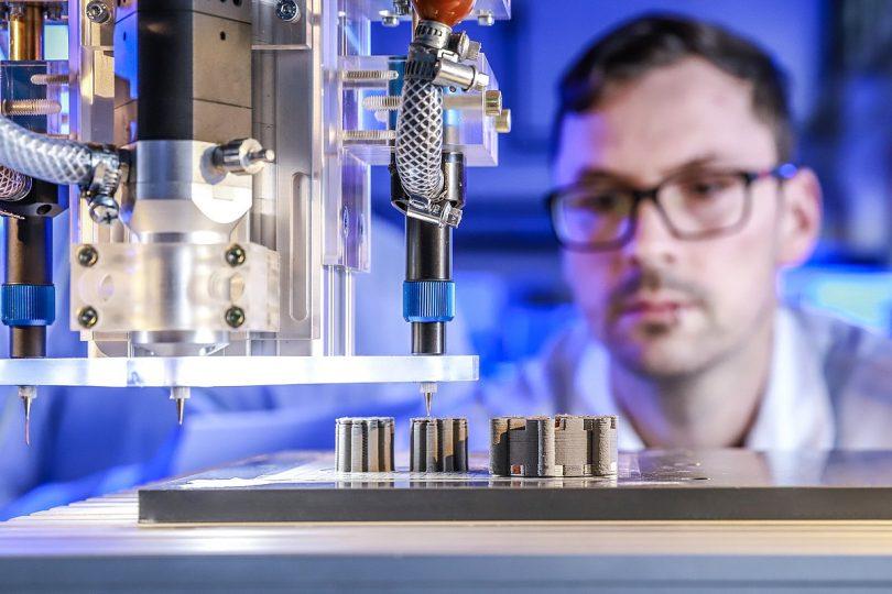 Vollständige Elektro-Motoren im 3D-Druck
