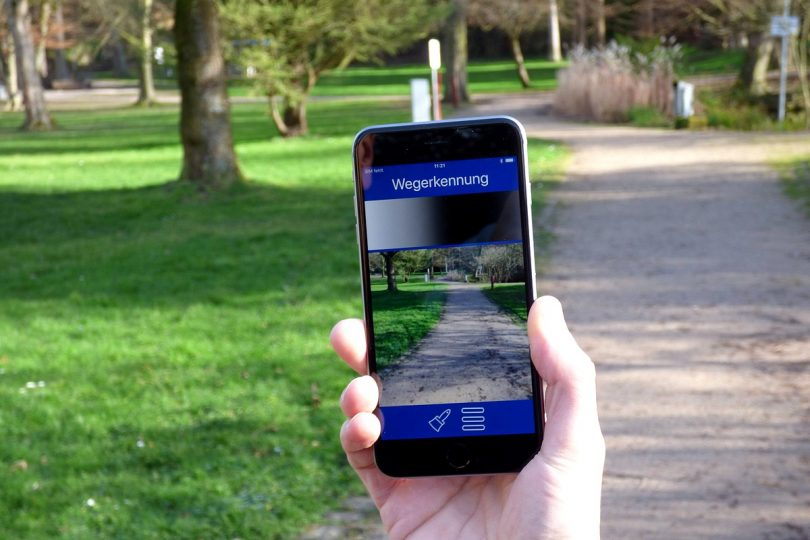Smartphone-App Camassia