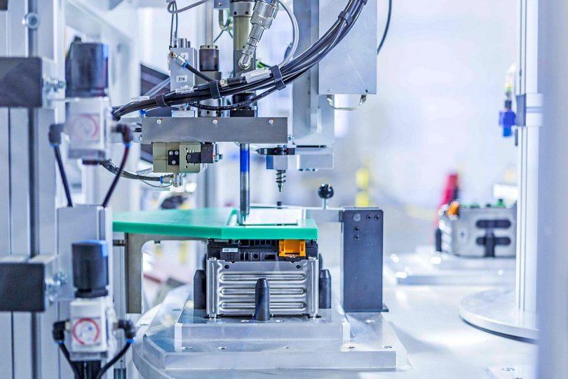 Produktion von Akkumulatoren bei Akasol