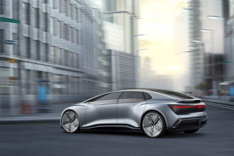 Audi AICON – autonomous vision car - autonomes Fahren