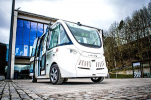 Self-Driving Bus in Gothenburg