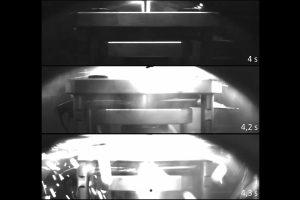 Reaktionsaufnahmen einer Batteriezelle | Technische Universität Braunschweig
