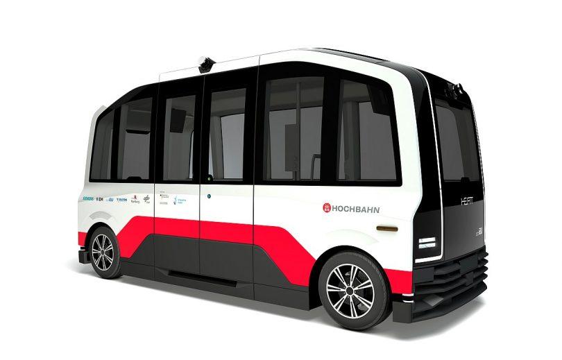 So wird der autonome Kleinbus des Projekts HEAT aussehen.