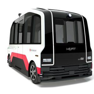 Der autonome Kleinbus des Projekts HEAT