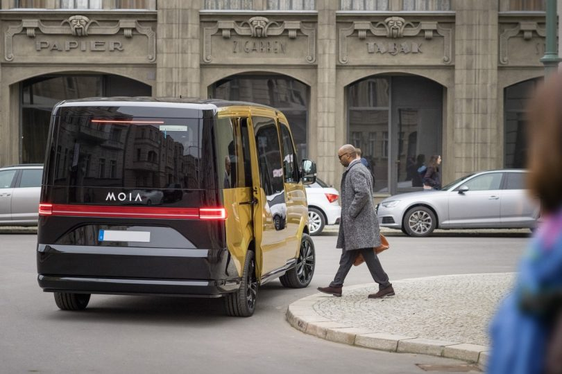 MOIA Ridesharing in Hannover