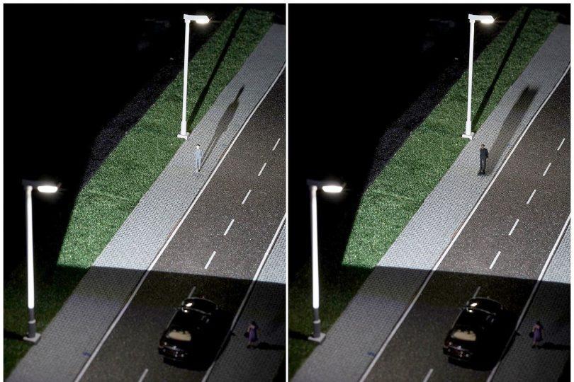 Camouflage-Effekt